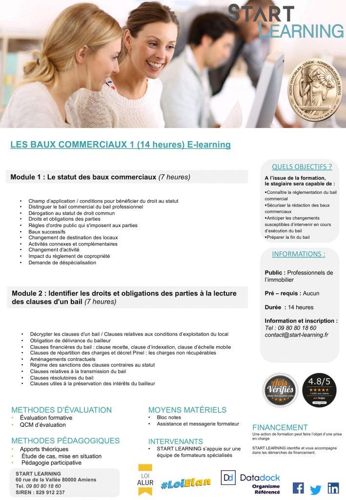 Formation Alur e-learning - Baux commerciaux
