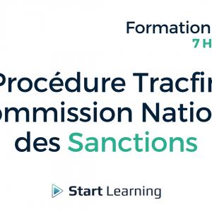 Formation loi Alur en ligne - Procédure Tracfin et Commission Nationale des Sanctions