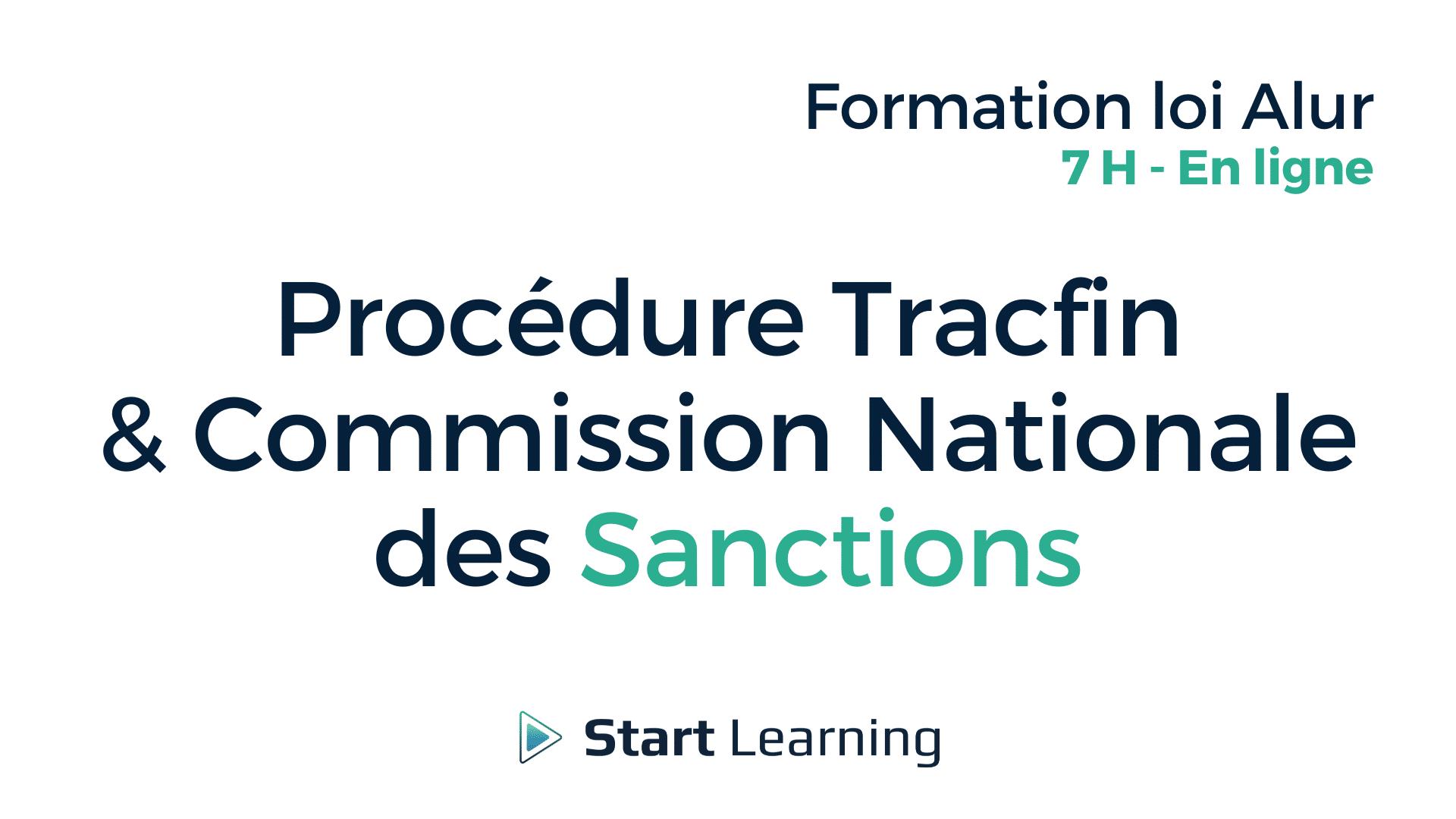 Formation loi Alur en ligne - Tracfin et CNTGI