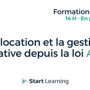 Formation loi Alur - La location et la gestion locative depuis la loi Alur