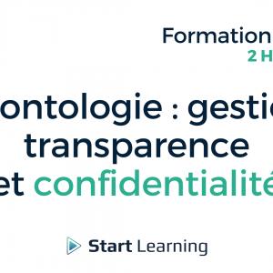 Formation loi Alur en ligne - Déontologie gestion transparence et confidentialité