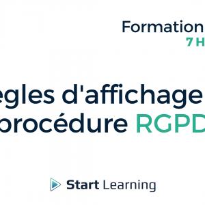 Formation loi Alur en ligne - Les règles d'affichage et la procédure RGPD