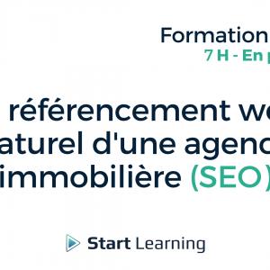 Formation loi Alur - Le référencement naturel d'une agence immobilière (SEO)