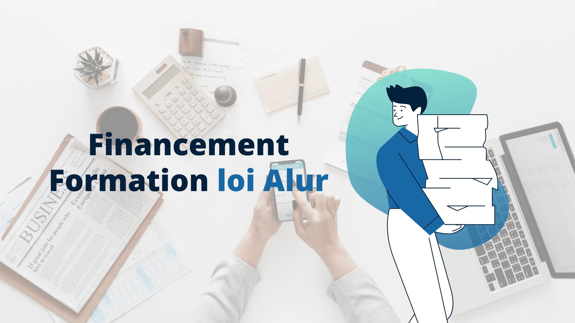 Financement Formation loi Alur