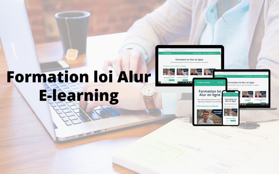 La formation loi Alur en e-learning avec Start Learning