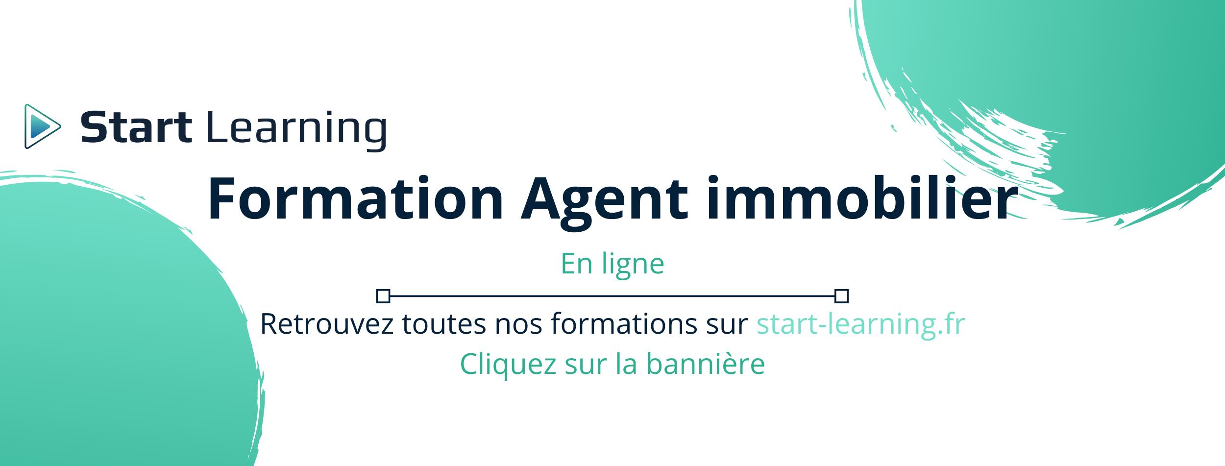 Bannière Blog Formation Agent immobilier