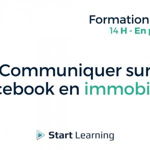 Formation loi Alur - Communiquer sur Facebook en Immobilier