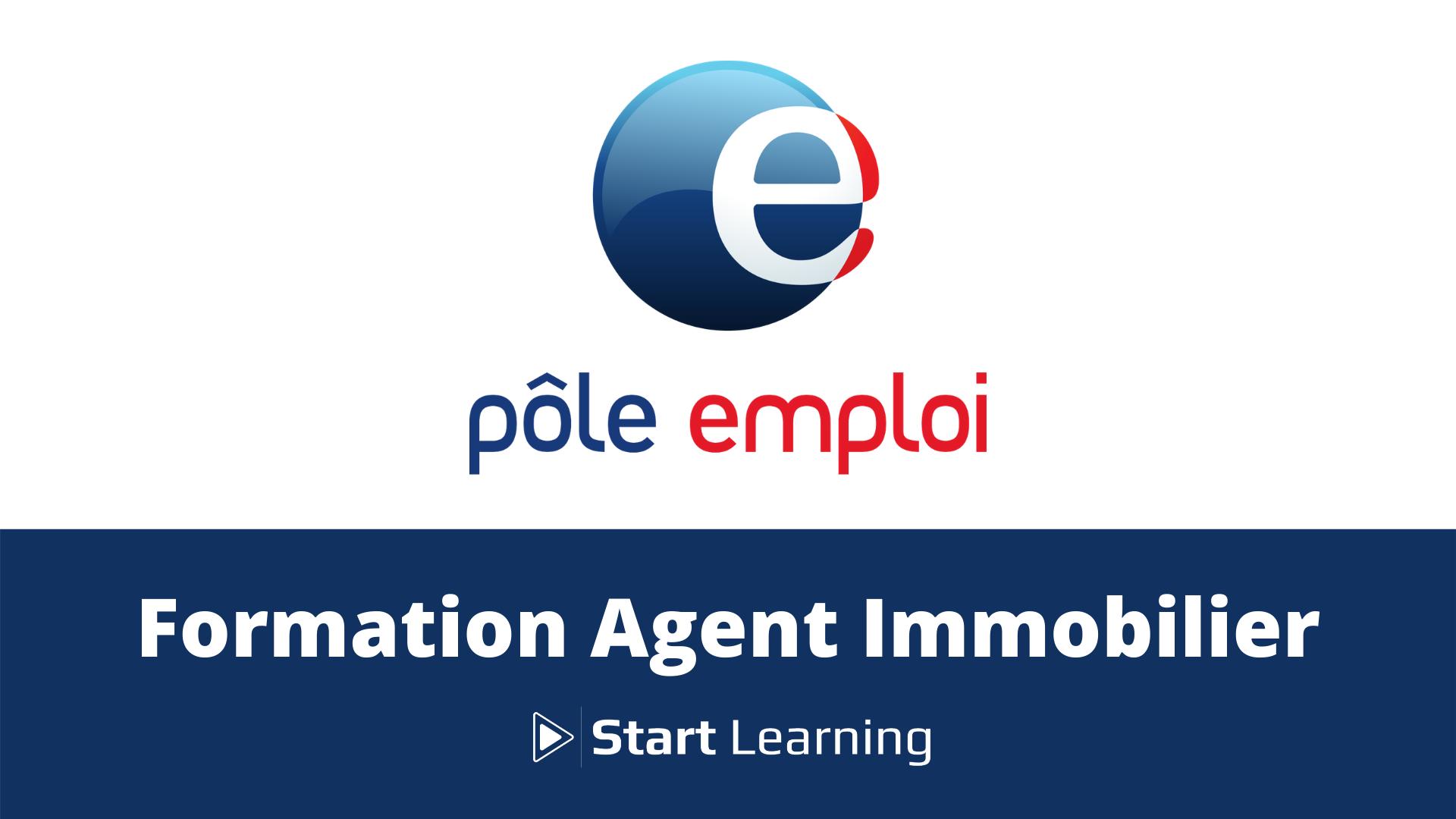 Formation Agent Immobilier Pôle Emploi