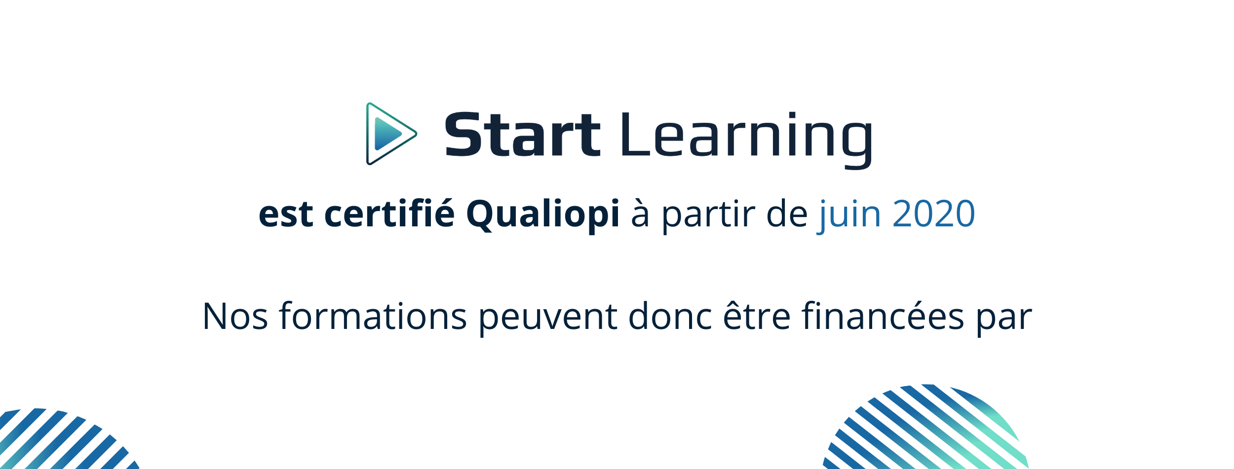 Certification Qualiopi 2 - Start Learning