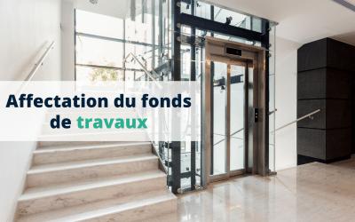 Affectation du fonds de travaux : parties communes spéciales et clé de répartition
